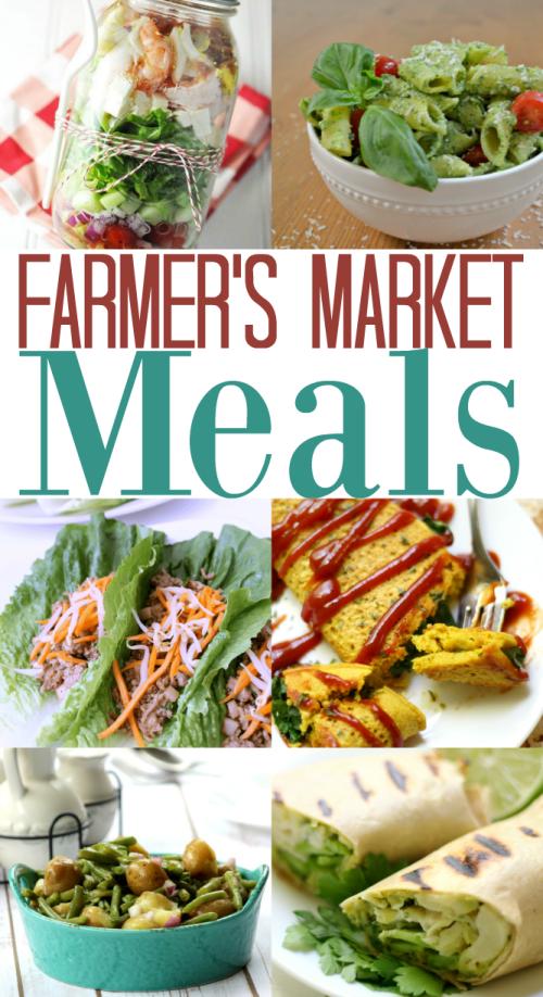 farmer's market meals