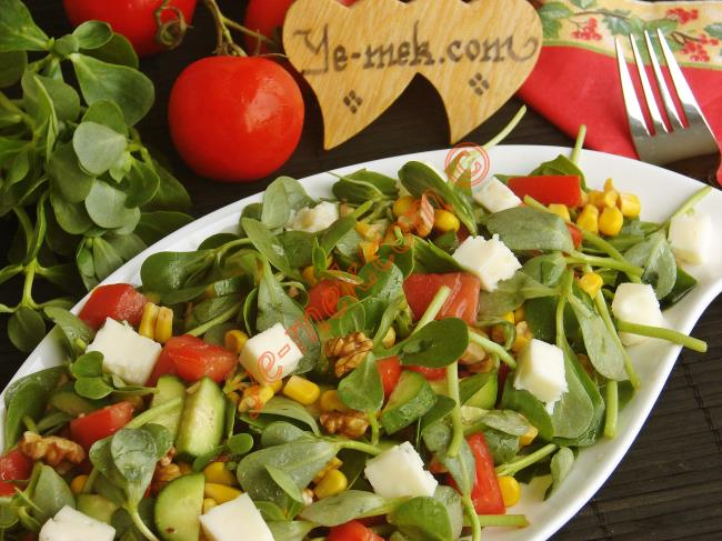 Turkish Purslane Salad